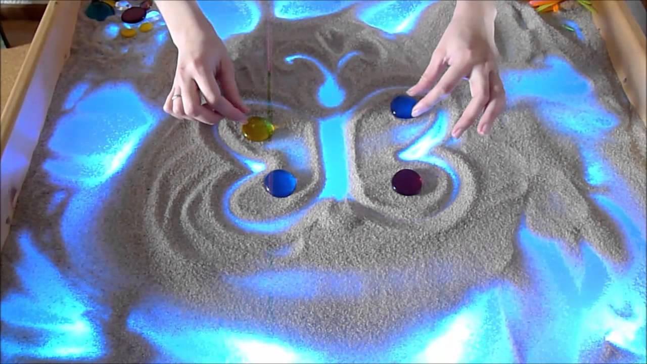 Что рисовать на песке