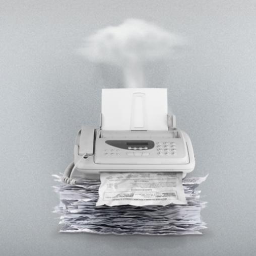 Испорченный факс