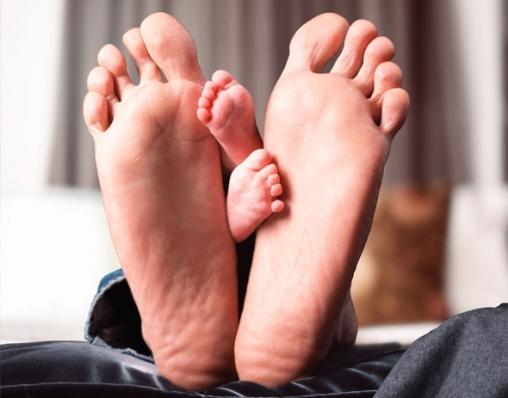 Большие маленькие ноги