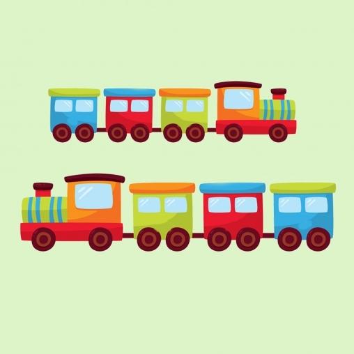 Детская игра Поезд
