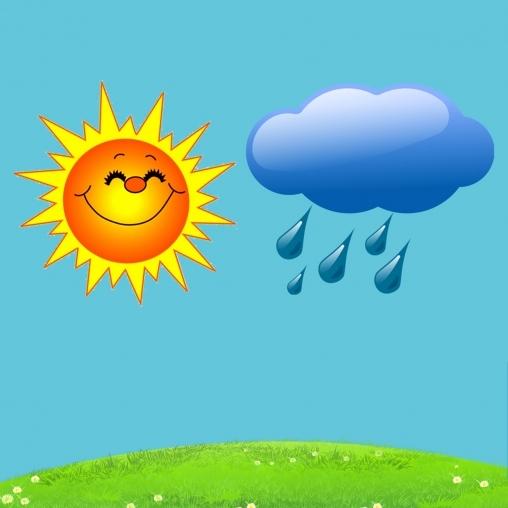 Солнышко и дождик