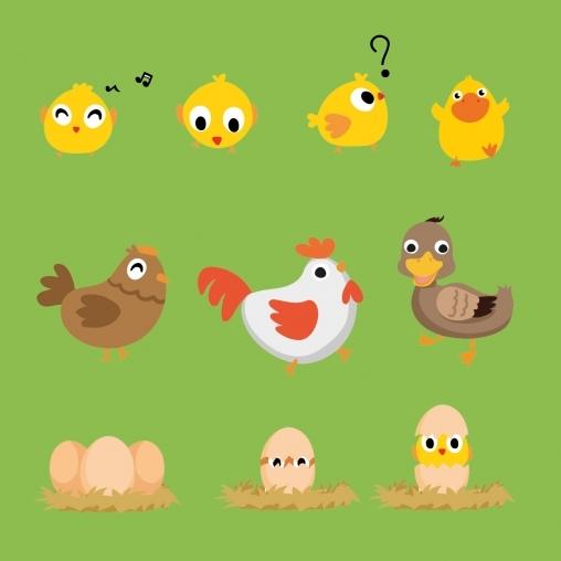 """Игра на внимание """"Домашние птицы"""""""
