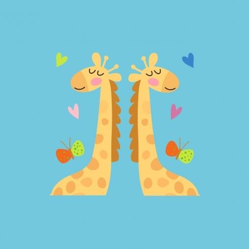 Сложи жирафа