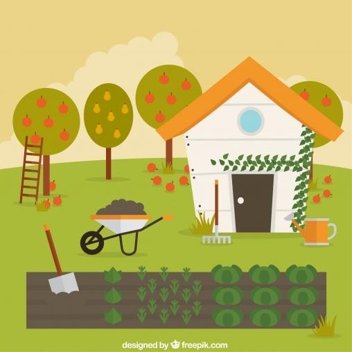 Игра Дом и сад