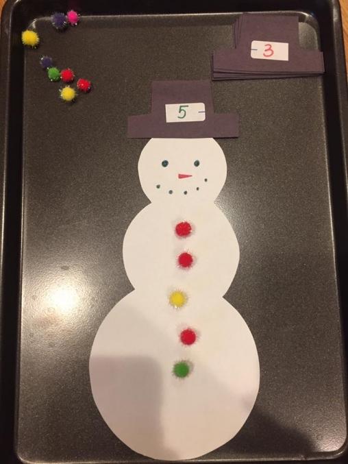 Игра поможет ребенку выучить цифры дома с мамой