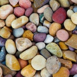 Цветные камешки