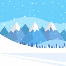 Игра с загадками про зиму