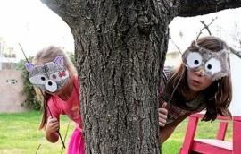 Спектакль с масками животных и птиц «Лесные жители встречают времена года»