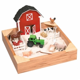 """Игра """"Веселая ферма"""". Песочная терапия"""