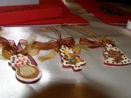 Новогодние украшения из соленого теста