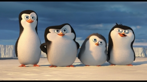 """Игра """"А мы - пингвинчики"""": зимние забавы для детей"""