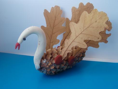 Осенние листья из пластилина. Поделки Pinterest Осенние 5